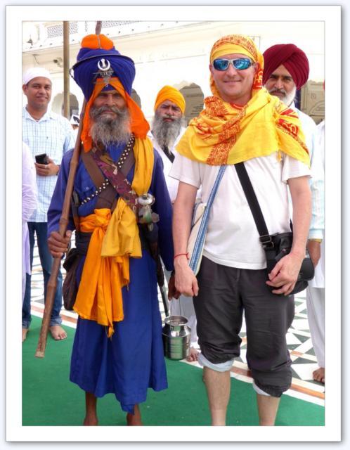 Avec un sikkh