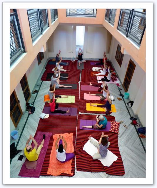 Vue d'ensemble yoga Haridwar